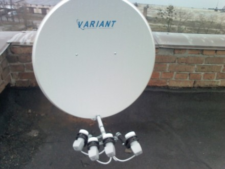 Спутниковая антенна+пакет интересных каналов,полный комплект с професиональной. Черкассы. фото 1