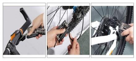 ROCKBROS 16 в 1 Фирменный Мультитул для велосипеда шестигранники отвертки и мног. Николаев, Николаевская область. фото 7
