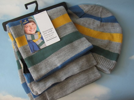 Комплект шапка шарф 56р. TCM Tchibo Германия. Киев. фото 1