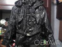 Курточка на девочку 9-12 лет,дэми,новая.Цвет черный.Длинна куртки-55 см,длинна р. Вишгород, Київська область. фото 3