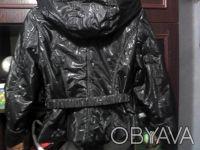 Курточка на девочку 9-12 лет,дэми,новая.Цвет черный.Длинна куртки-55 см,длинна р. Вишгород, Київська область. фото 4