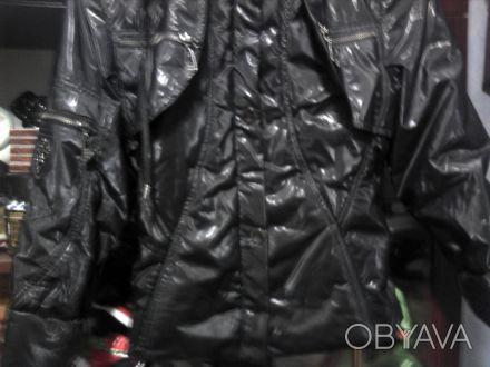 Курточка на девочку 9-12 лет,дэми,новая.Цвет черный.Длинна куртки-55 см,длинна р. Вишгород, Київська область. фото 1