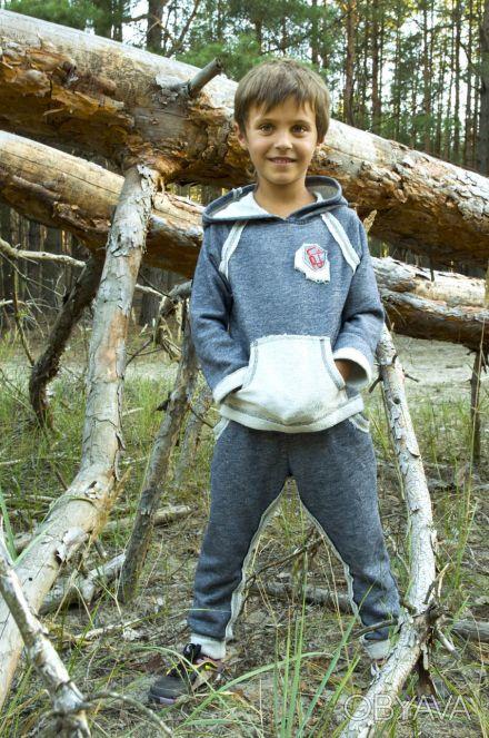 Можете заказать Детский спортивный костюм для мальчика темно-синий  на нашем сай. Киев, Киевская область. фото 1