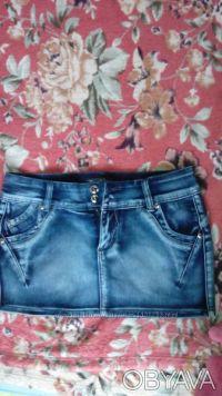 Продам джинсовую юбочку для модниц. Киев. фото 1