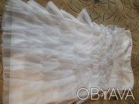 платье на девочку коктейльное белое . одевалось один раз на утренник. Поэтому со. Днепр, Днепропетровская область. фото 3
