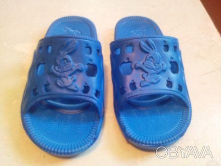 Детские летние сланцы - самая удобная и легкая детская обувь на каждый день дома. Хмельницкий, Хмельницкая область. фото 1