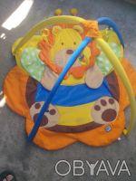 Игровой коврик для вашей крохи,в комплекте пять игрушек на удобных карабинчиках.. Хмельницкий, Хмельницкая область. фото 4