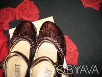 Стильные женские туфли, кожа, фирмы MAGRIT-производство Италия. Цвет коричневый. Киев, Киевская область. фото 6