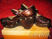 Стильные женские туфли, кожа, фирмы MAGRIT-производство Италия. Цвет коричневый. Киев, Киевская область. фото 3