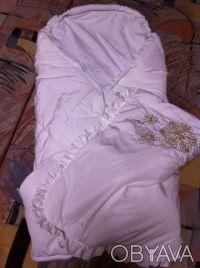 Конверт на выписку для вашего ребеночка.  Очень теплый, как одеяльце. Его можно. Винница, Винницкая область. фото 4