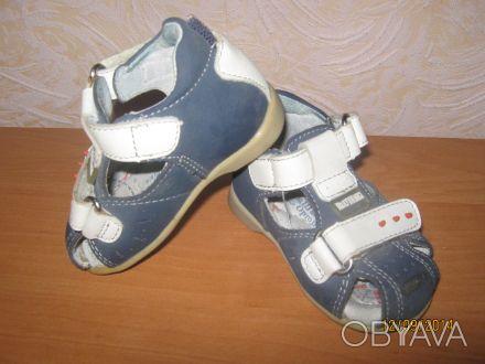 """Синие ортопедические сандалики """"Шалунишка"""" для деток, которые делают свои первые. Нежин, Черниговская область. фото 1"""