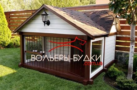 Вольеры и будки для собак.. Киев. фото 1