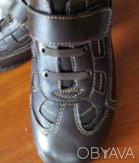 Кожаные ортопедические туфли для мальчиков 25-37. Киев. фото 1