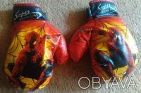Перчатки боксёрские для детей. В идеальном состоянии. В наличии 2-е пары.. Кривой Рог, Днепропетровская область. фото 4