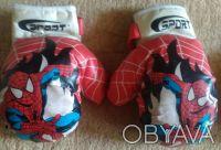 Перчатки боксёрские для детей. В идеальном состоянии. В наличии 2-е пары.. Кривой Рог, Днепропетровская область. фото 3
