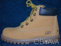 Брендовые  демисезонные ботинки Skechers , оригинал, привезены из Америки   .Ра. Киев, Киевская область. фото 2