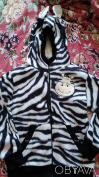 Продаю прикольную пайту-зебру можно носить как мальчику так и девочке в отличном. Киев, Киевская область. фото 2