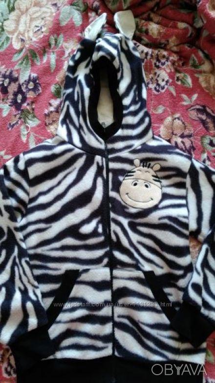 Продаю прикольную пайту-зебру можно носить как мальчику так и девочке в отличном. Киев, Киевская область. фото 1