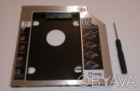 оптибей (optibay) 9.5mm SATA/miniSATA для подключения HDD 2,5