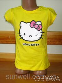 Детская футболка для девочки Китти, Hello kitty  Sun Sity Франция   3-8лет В . Київ, Київська область. фото 6