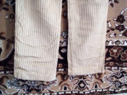 Брюки вельветовые.на девочку 10-13 лет,р.26,песочного цвета,в очень хорошем сост. Вышгород, Киевская область. фото 6