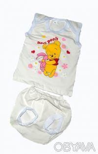 Замечательные комплекты для Ваших малышей! Приятные цвета и смешные надписи буду. Одесса, Одесская область. фото 2