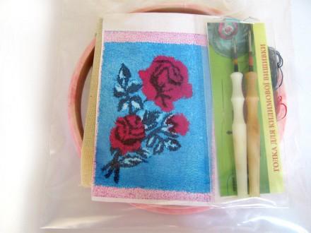 Набор для «ковровой вышивки»  2 иглы «Роза». Ивано-Франковск. фото 1