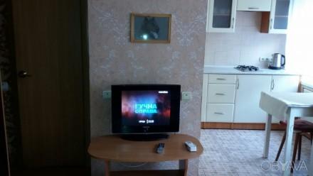Сдам в аренду 1 комн. квартиру ж/м Тополь-3, дом 49, квартира студия, отличное с. Тополь-3, Днепр, Днепропетровская область. фото 1