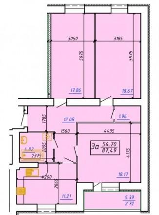 Новая квартира у реки с а/о. Сумы. фото 1