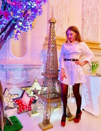 Эйфелева башня АРЕНДА фотозона ДЕКОР на свадьбу ЦИФРЫ день рождения буквы LOVE. Киев. фото 1