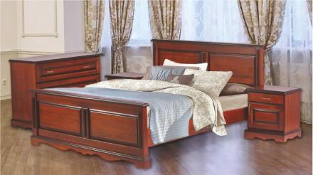 Спальня Жизель (массив ольхи). Чернигов. фото 1