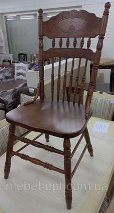 Деревянный обеденный стул CCKD-828-S Малайзия. Киево-Святошинский. фото 1