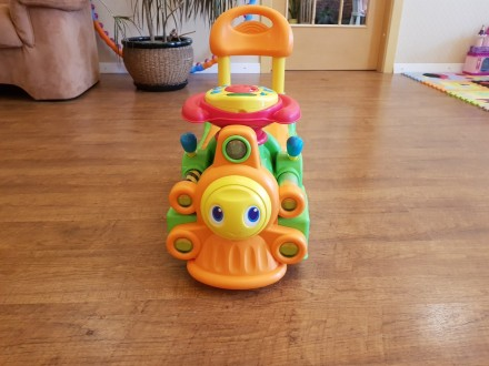 Chicco Loco Train игрушка для катания. Днепр. фото 1