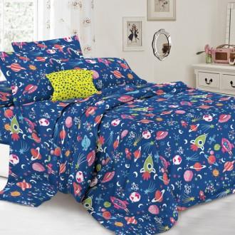 Детское постельное белье для мальчика, Космопорт, 1,5 и 2 спальное, в кроватку. Харьков. фото 1