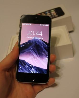 Продам IPHONE 5S  Характеристики: - Размер: 123,8×58,6×7,6 мм. - Вес: 112 г.. Кропивницкий, Кировоградская область. фото 2