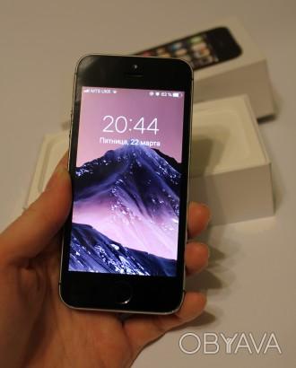 Продам IPHONE 5S  Характеристики: - Размер: 123,8×58,6×7,6 мм. - Вес: 112 г.. Кропивницкий, Кировоградская область. фото 1