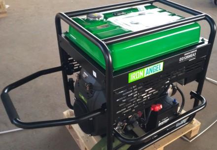 Генератор Iron Angel EG12000EA3 + блок автоматики   Тип генератора Трехфазны. Киев, Киевская область. фото 8
