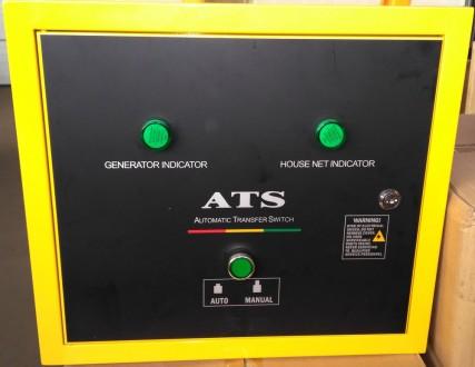 Генератор Iron Angel EG12000EA3 + блок автоматики   Тип генератора Трехфазны. Киев, Киевская область. фото 4