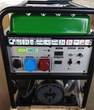 Генератор Iron Angel EG12000EA3 + блок автоматики   Тип генератора Трехфазны. Киев, Киевская область. фото 3