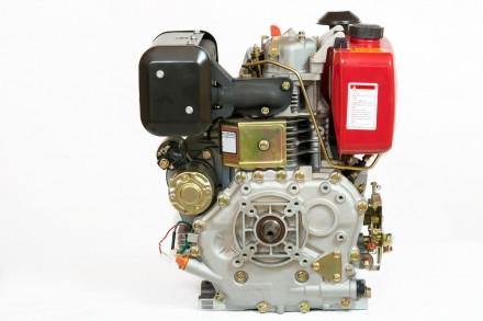 Двигатель дизельный Weima WM186FBE (вал под шлицы) 9.5 л.с. съёмный цилиндр Дизе. Киев, Киевская область. фото 5