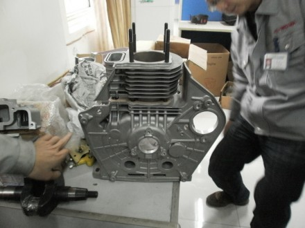 Двигатель дизельный Weima WM186FBE (вал под шлицы) 9.5 л.с. съёмный цилиндр Дизе. Киев, Киевская область. фото 9