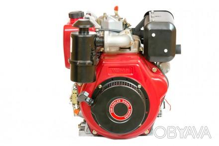 Двигатель дизельный Weima WM186FBE (вал под шлицы) 9.5 л.с. съёмный цилиндр Дизе. Киев, Киевская область. фото 1