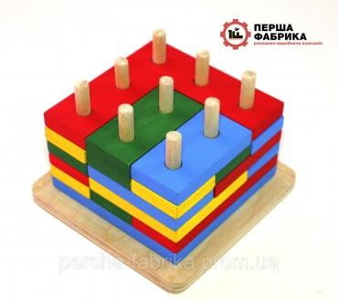 Іграшка  пірамідка 3Д. Винница. фото 1