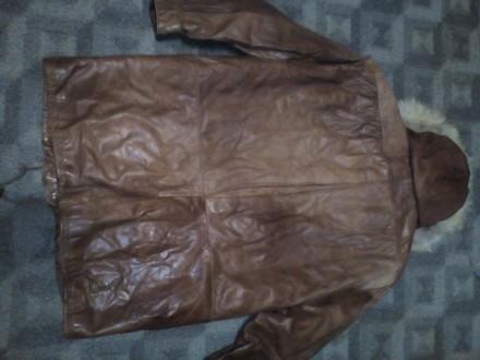 Куртка кожа р46. Чернигов. фото 1