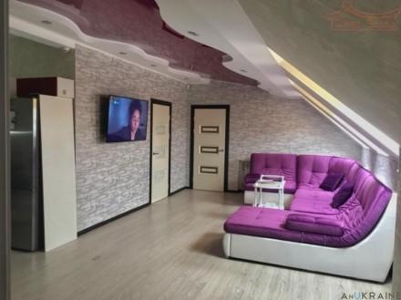 Продам 3к.квартиру-пентхаус  в центре  с ремонтом и всей необходимой мебелью. Одесса. фото 1