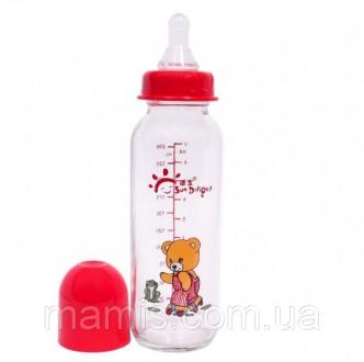 Стеклянная бутылочка ТМ