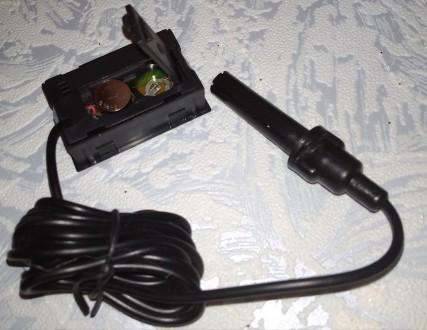 Мини гигрометр - термометр с выносным датчиком служит для измерения влажности и . Чернигов, Черниговская область. фото 7