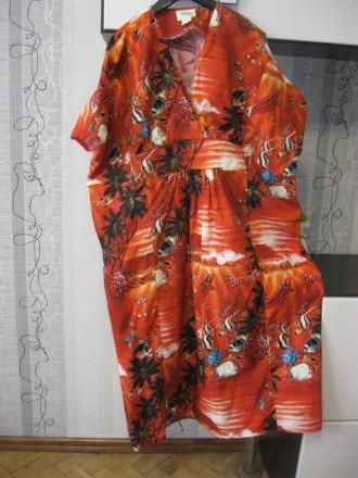 60426105f6b1ea Поб 83 много больших платьев красивое хлопковое комфортное платье  королевский ра