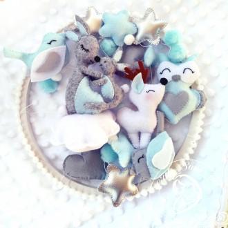 Не знаете что подарить новорожденному?  Подарите своему малышу авторский мобил. Полтава, Полтавская область. фото 6