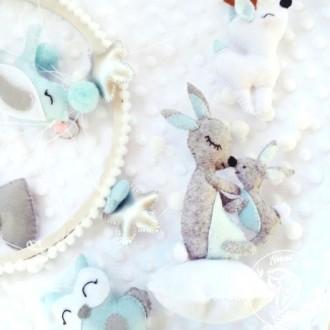 Не знаете что подарить новорожденному?  Подарите своему малышу авторский мобил. Полтава, Полтавская область. фото 12